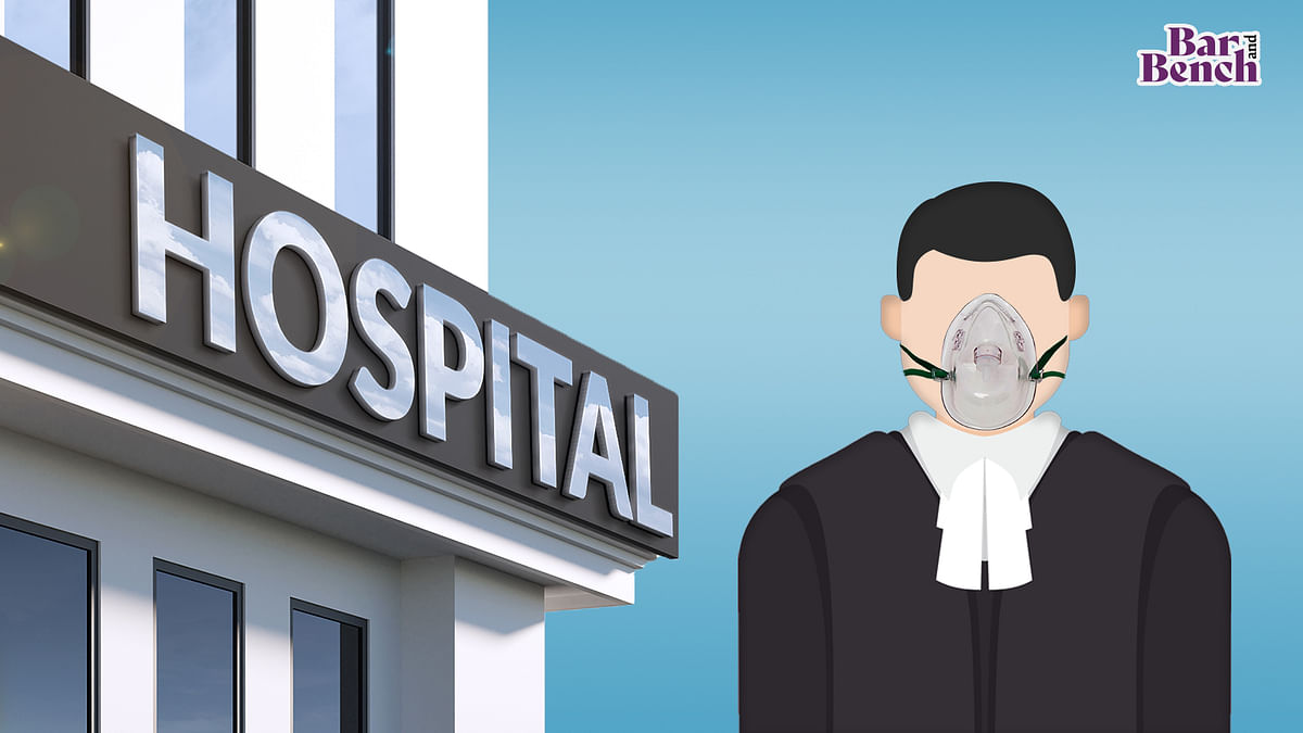 COVID-19 positive lawyer joins hearing from hospital bed via video conference, Delhi High Court records appreciation