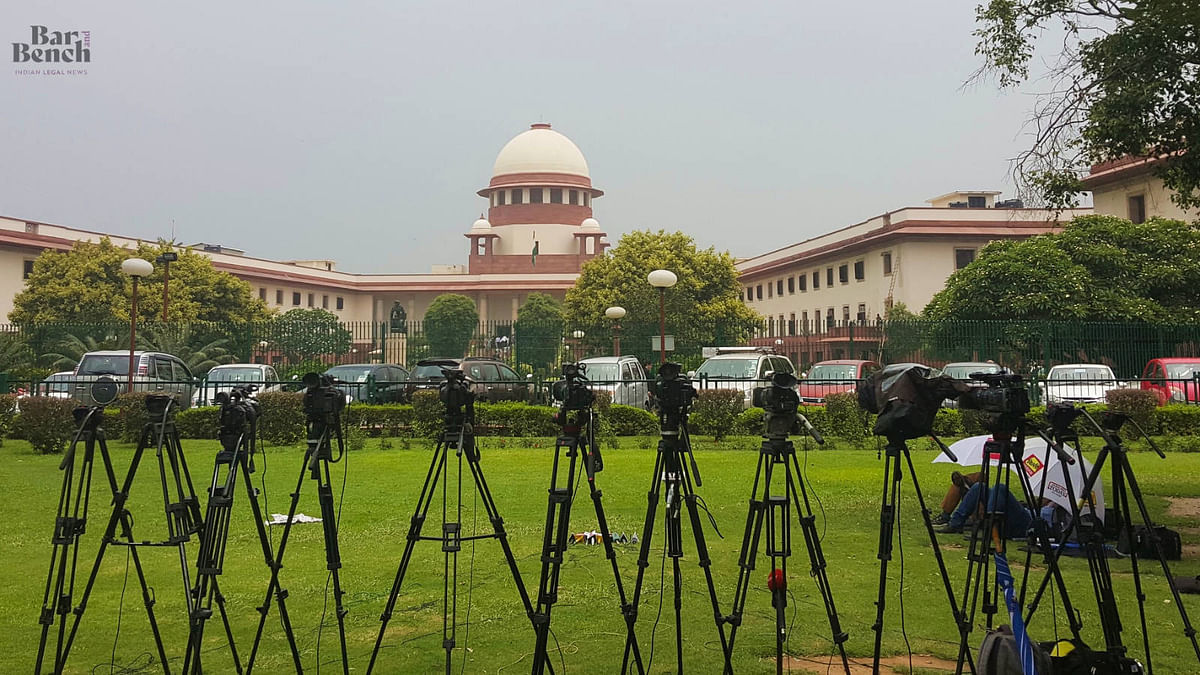 """""""Media should be able to report everything to create accountability:"""" Five Highlights from Supreme Court hearing in the Election Commission"""