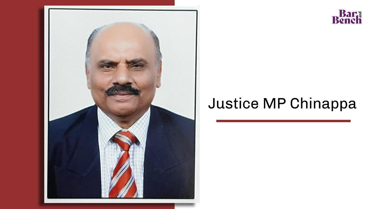 Retired Karnataka High Court Judge, Justice MP Chinnappa passes away