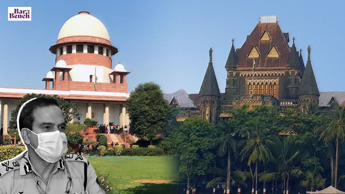 """Param Bir Singh tells Bombay High Court will not """"ride on two horses""""; agrees not to press for reliefs before Supreme Court in Thane FIR"""