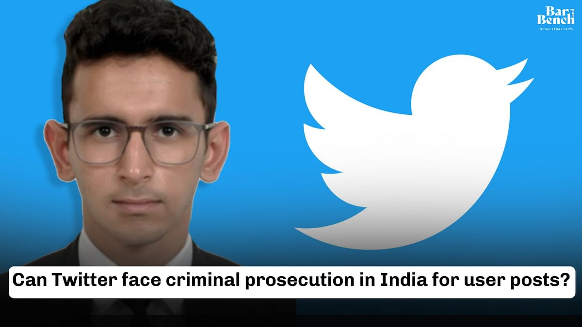 Can Twitter face criminal prosecution in the future for user posts? [Video]