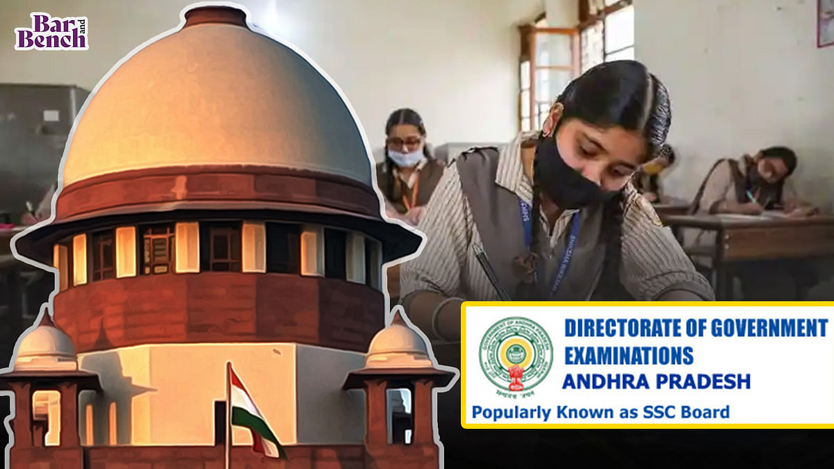"""[BREAKING] """"No reliable alternative in Andhra Pradesh:"""" State govt tells Supreme Court it will hold Class 12 State board exams in physical mode"""