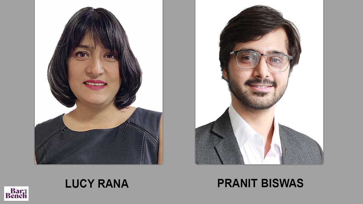 Lucy Rana, Pranit Biswas