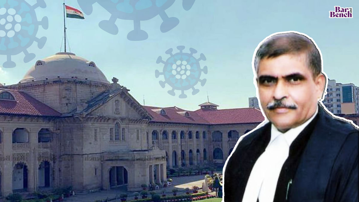Suo Motu case on COVID-19 before Allahabad High Court to be heard by Acting Chief Justice Bench after change in roster