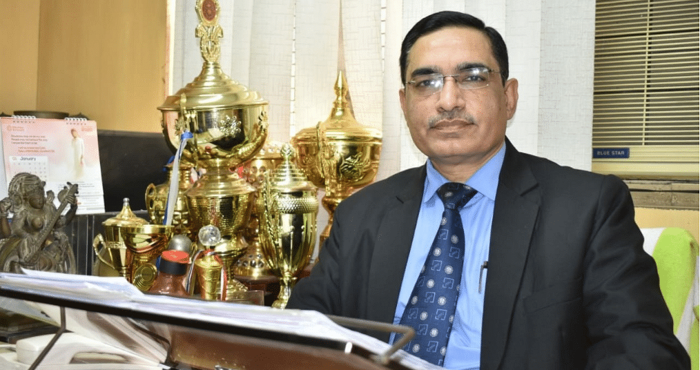 Prof VK Ahuja takes charge as Vice-Chancellor of NLU Assam