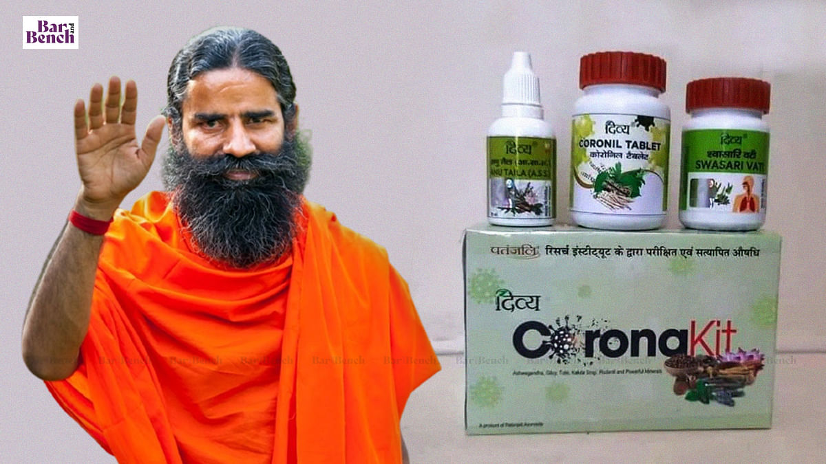 Baba Ramdev advertised Coronil but did not prevent anyone from getting COVID vaccine: Delhi High Court