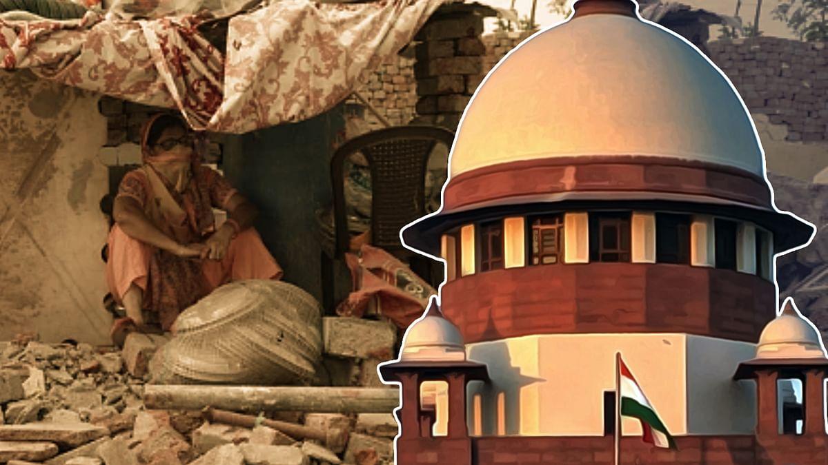 Another plea in Supreme Court to halt Khori Gaon demolition; third in two months