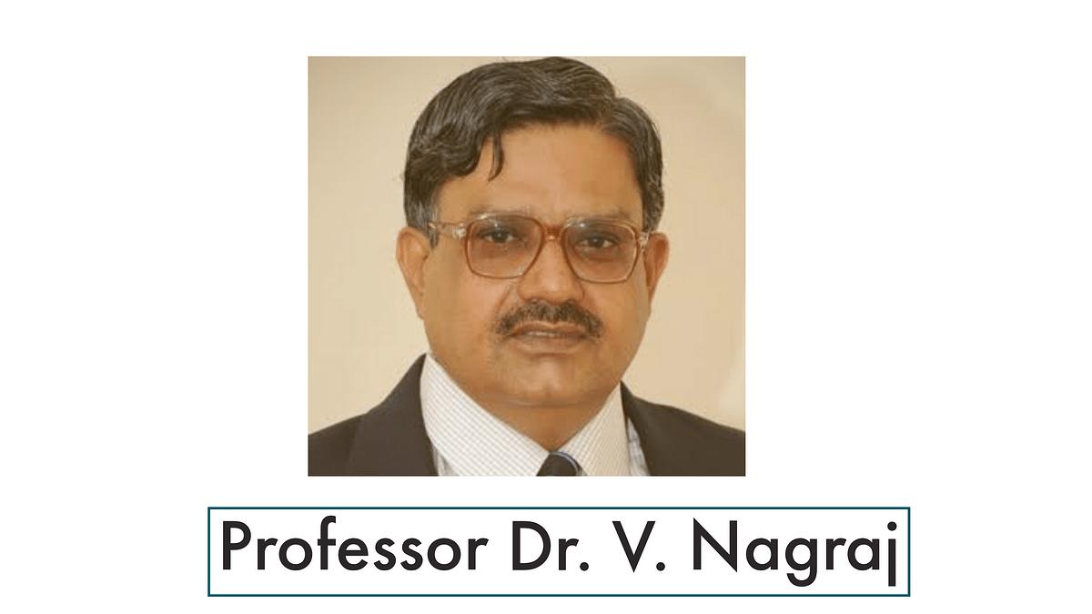 [Breaking] Former NLUO VC, NLSIU Registrar Prof V Nagaraj appointed as Vice-Chancellor of DNLU, Jabalpur