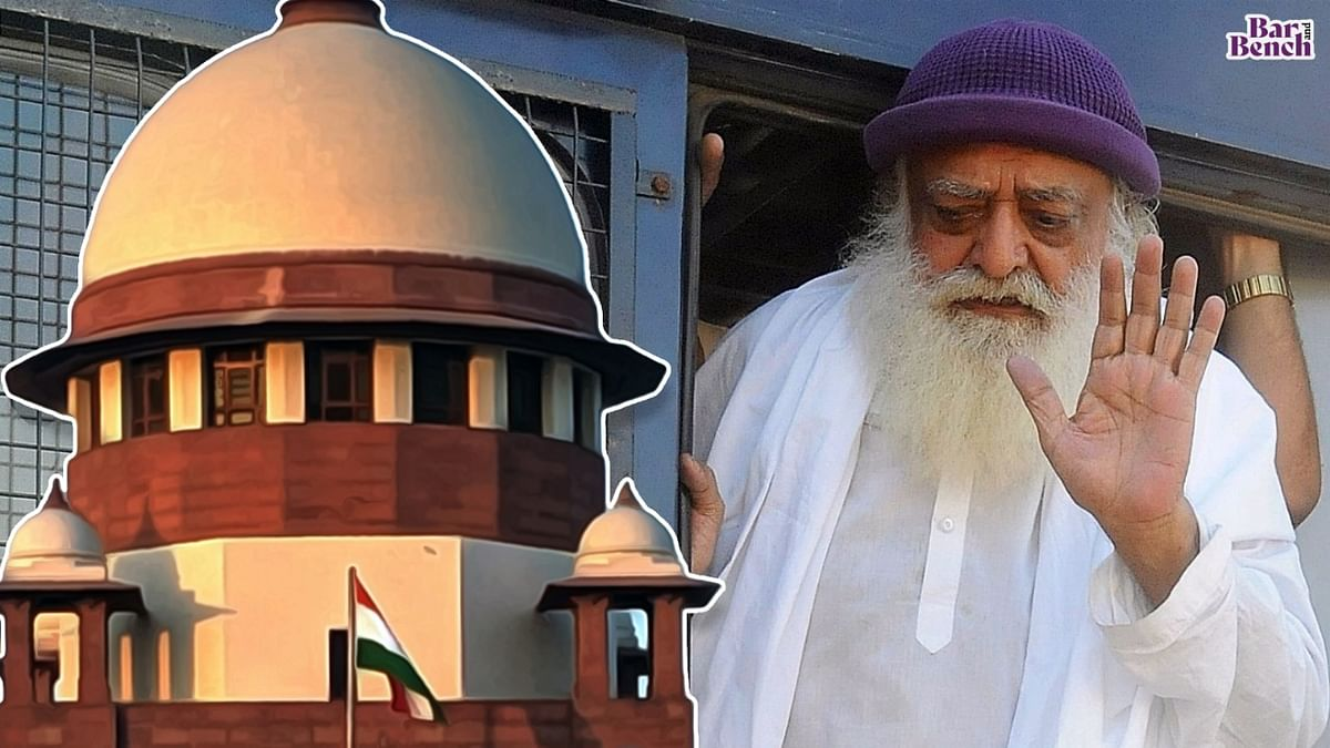 [Breaking] Asaram Bapu has ulterior motive to change place of custody under guise of seeking medical treatment: Rajasthan govt to Supreme Court