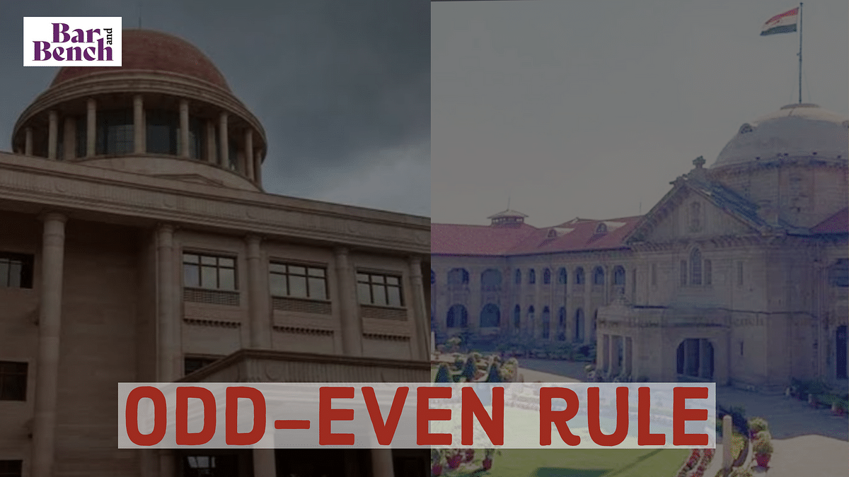 Allahabad High Court introduces Odd-Even rule for listing of cases