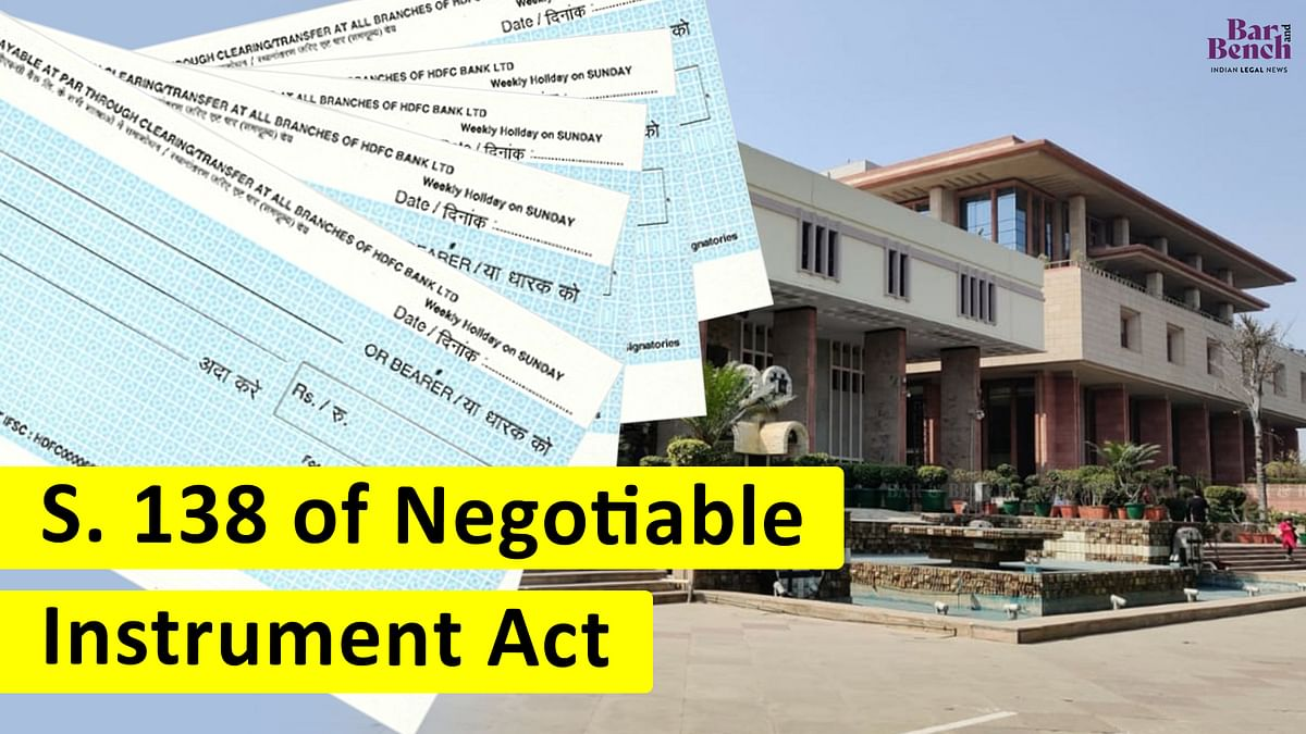 Delhi High Court notifies practice directions for speedy trial of cases under Section 138 of Negotiable Instruments Act 1881