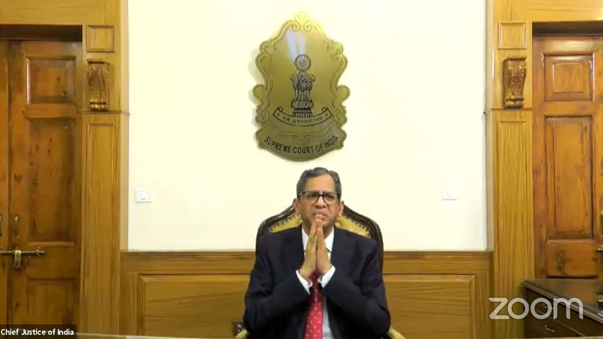 [Judicial Independence] Essential to start discourse on how social media trends affect institutions: Chief Justice of India NV Ramana