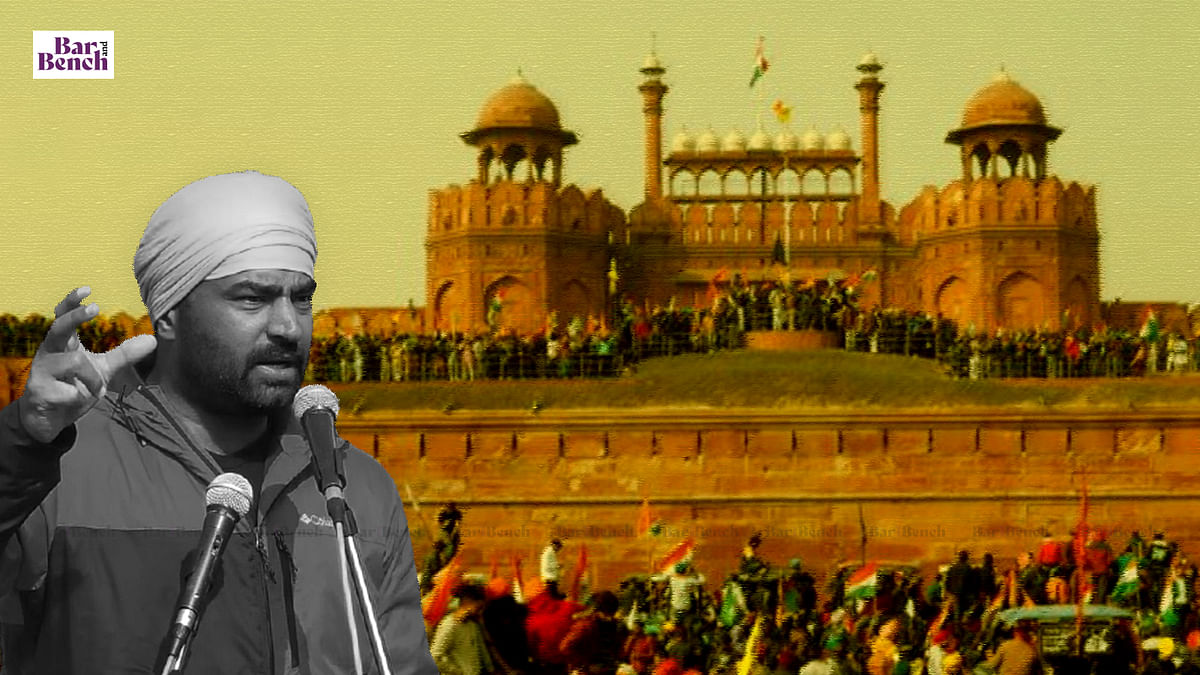 Delhi Court grants interim protection to Lakha Sidhana in Red Fort violence case, stays arrest