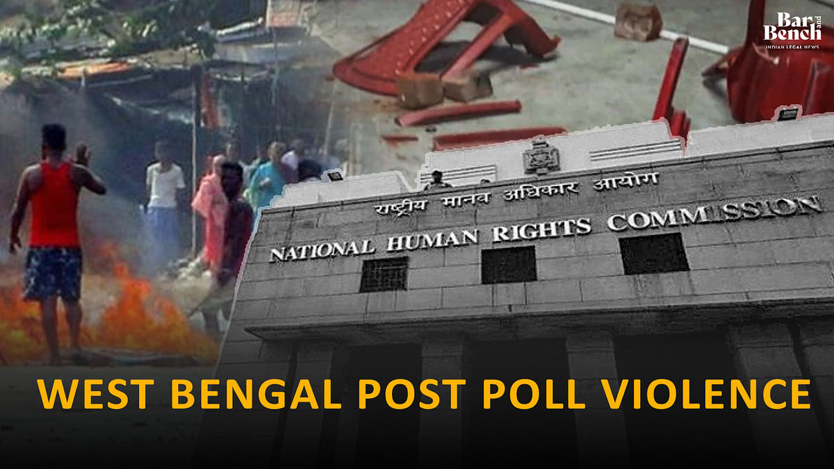 """[Post Poll Violence] """"NHRC report politically motivated; homilies on independence of NHRC laughable:"""" West Bengal Govt to Calcutta High Court"""