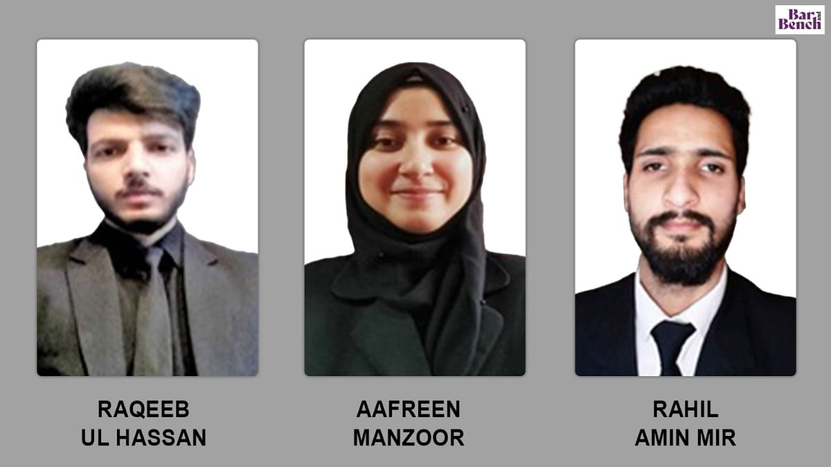 Sheikh Noor-Ud-Din Noorani (R.A) first Inter-Semester virtual moot court competition announces winners