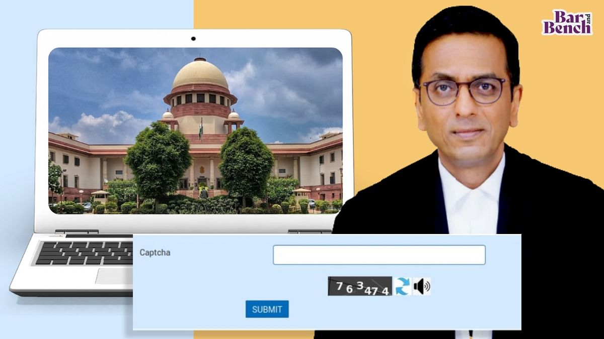 Supreme Court e-Committee makes audio captchas available on all High Court websites to facilitate access for visually impaired