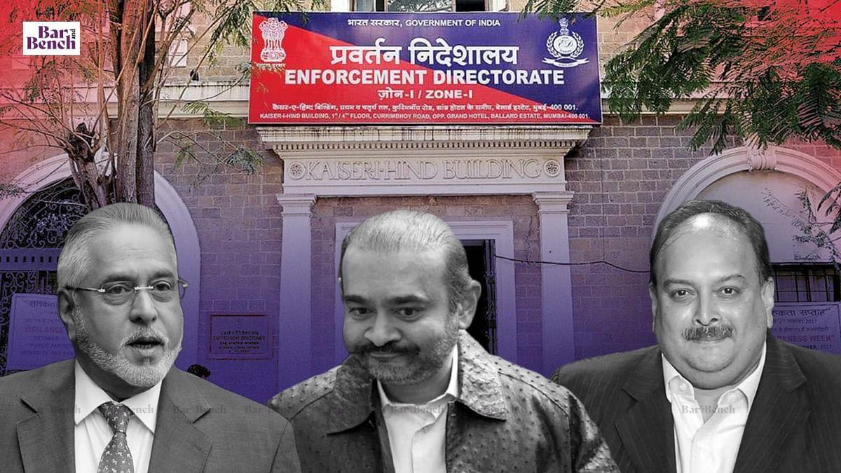 ED seizes assets worth over Rs 18,000 crores of Vijay Mallya, Nirav Modi, Mehul Choksi; transfers part of it to Centre, public sector banks