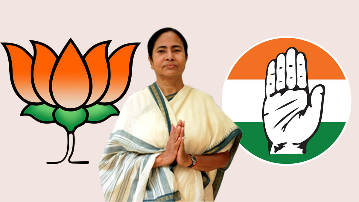 When lawyers with Congress, BJP backgrounds appeared for TMC Chief Minister Mamata Banerjee