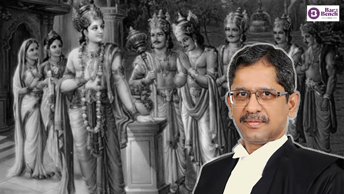 """""""Mahabharata an early attempt at mediation, mediation embedded in Indian ethos:"""" CJI NV Ramana at India-Singapore Mediation Summit"""