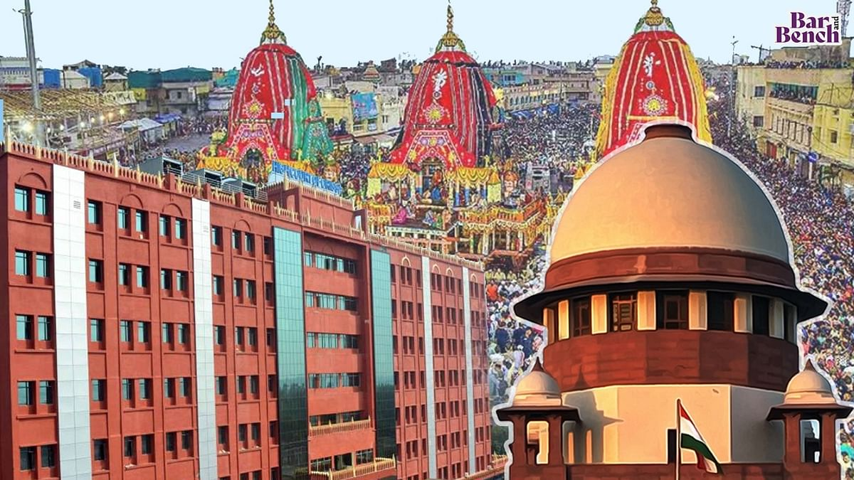 """""""Total ban on Ratha Yatra against right to religion:"""" Plea in Supreme Court against Odisha govt order to confine Ratha Yatra to Puri due to COVID"""