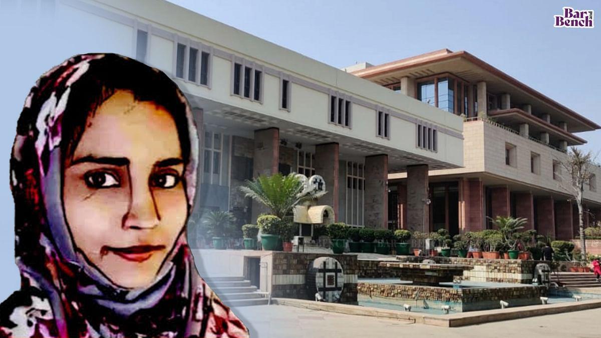 Delhi High Court Bench recuses from  hearing Habeas Corpus plea of Delhi Riots accused Gulfisha Fatima citing heckling by lawyer Mehmood Pracha
