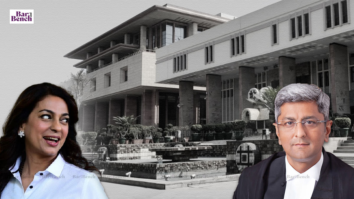 Justice Sanjeev Narula recuses from hearing Juhi Chawla plea