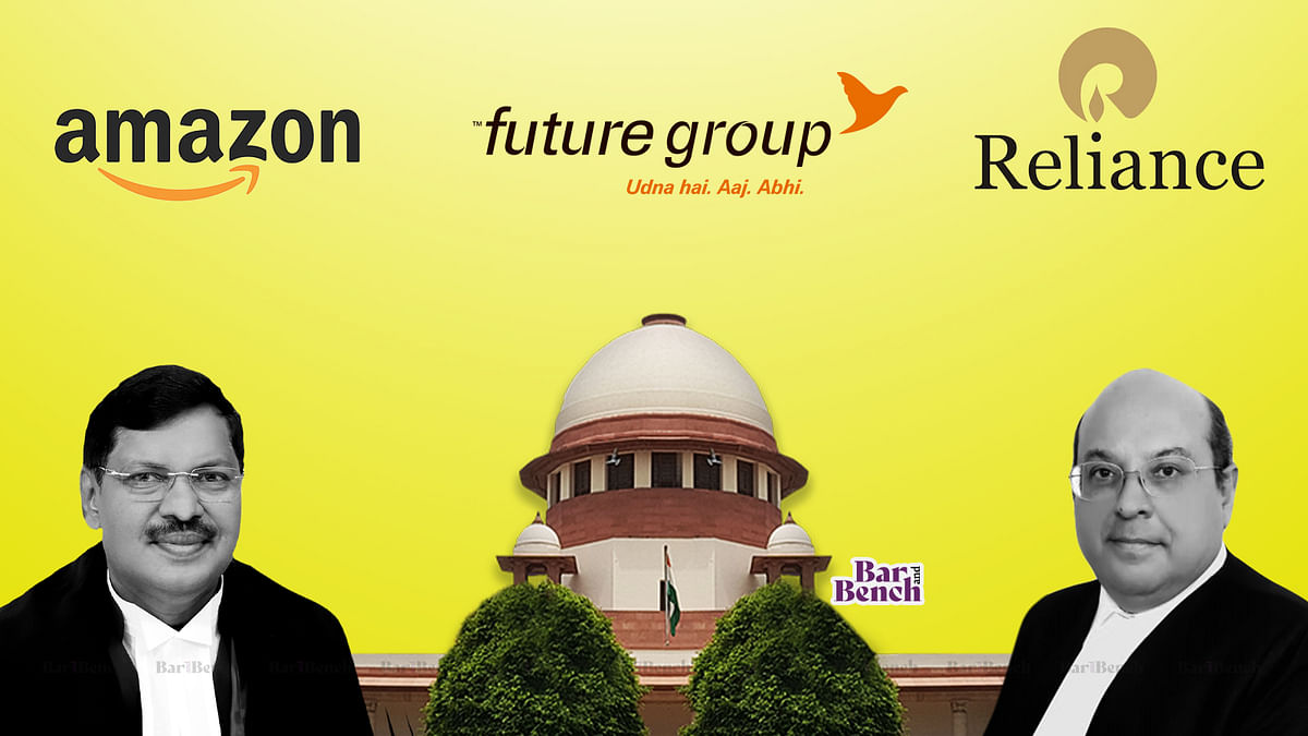 [Amazon v. Future] Supreme Court reserves judgment in appeal against Delhi High Court stay order