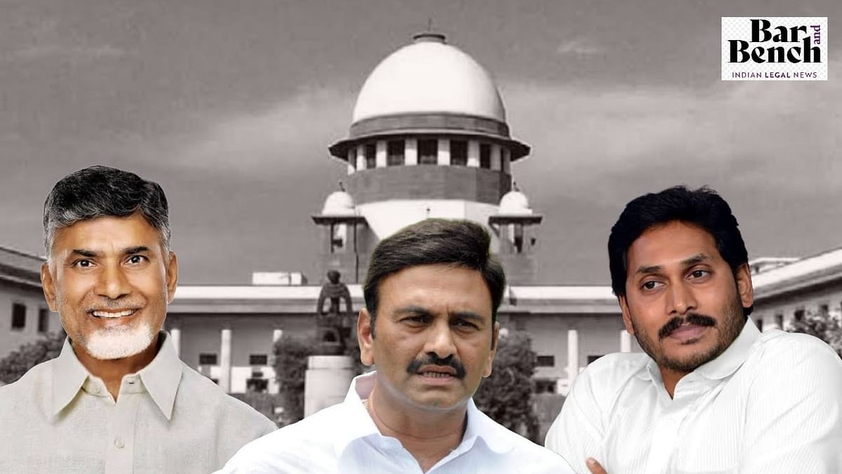 [BREAKING] YSRCR MP Krishnam Raju took payment from Andhra channels, in touch with Chandrababu Naidu: Andhra govt tells Supreme Court
