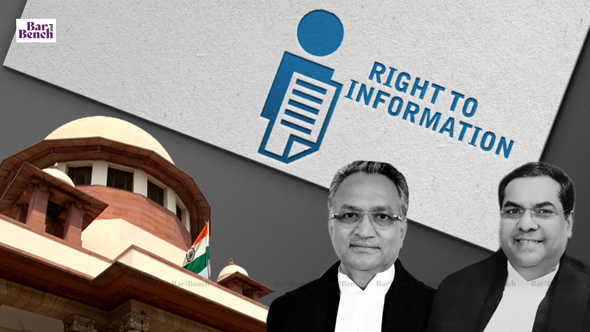 """""""RTI replies not very reliable, do not cite RTI documents:"""" Supreme Court observes"""