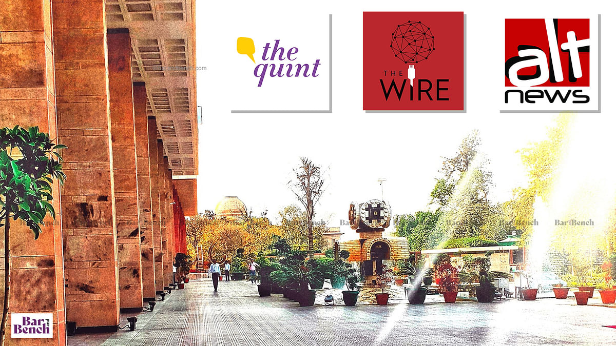 Delhi High Court refuses to grant interim relief (for now) to The Wire, The Quint, AltNews in challenge to IT Rules, 2021