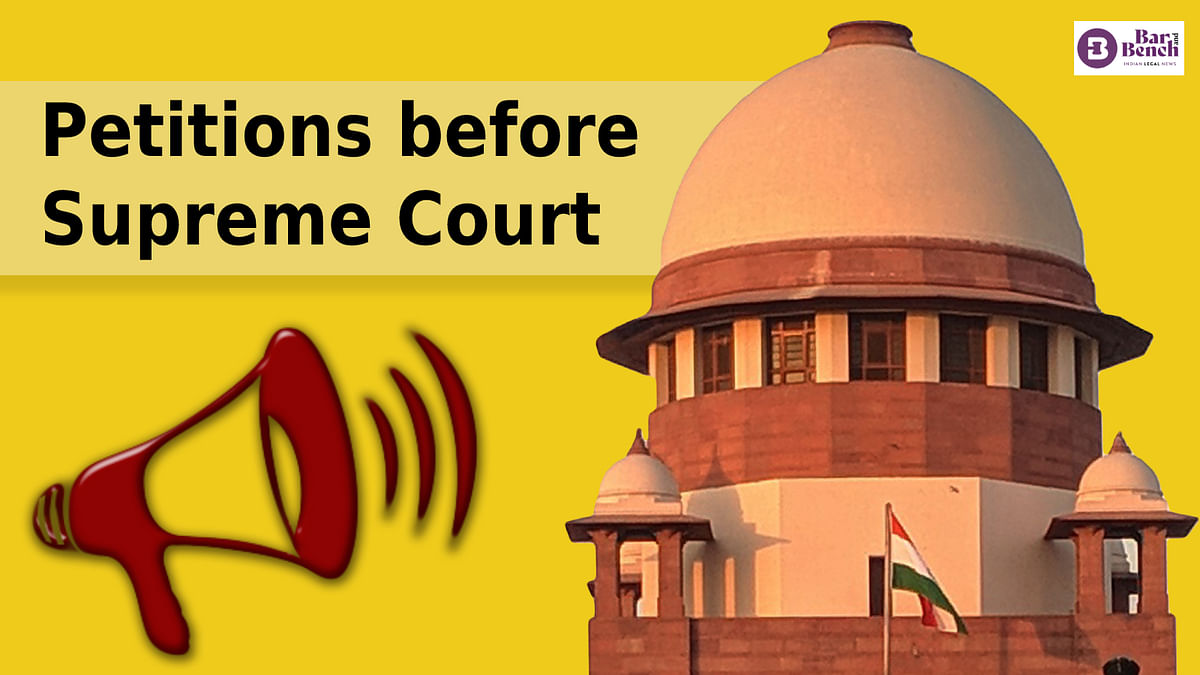 [Sedition] These are the 7 petitions in Supreme Court challenging Section 124A IPC