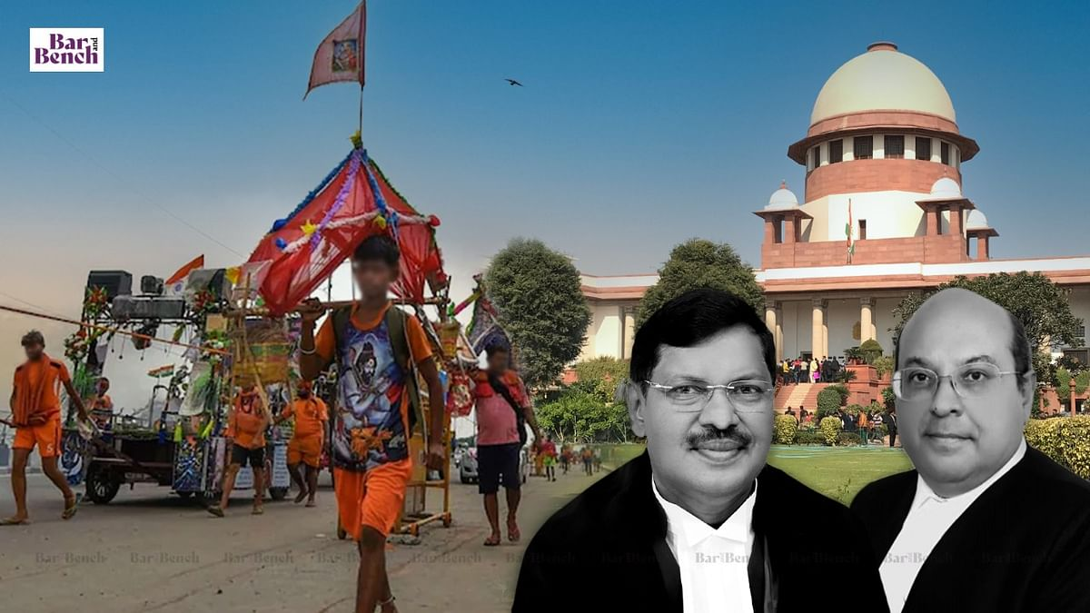 SC closes case against UP after cancellation of Kanwar Yatra; Kerala ordered to file response on plea against COVID relaxations for Bakrid