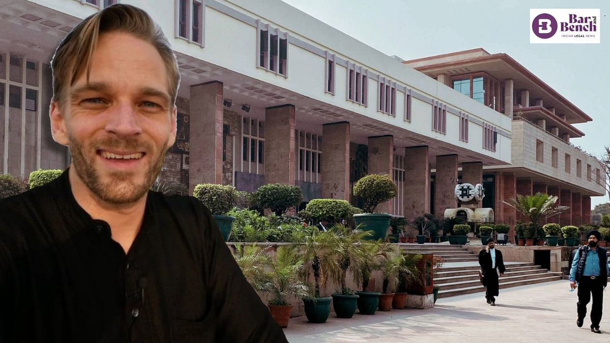 Delhi High Court seeks response from Central government on plea by wife of Youtube Vlogger Karl Rock challenging cancellation of his visa