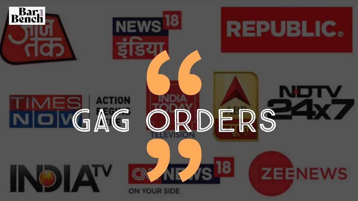 Four times courts in Karnataka have passed gag orders against media in last 5 months