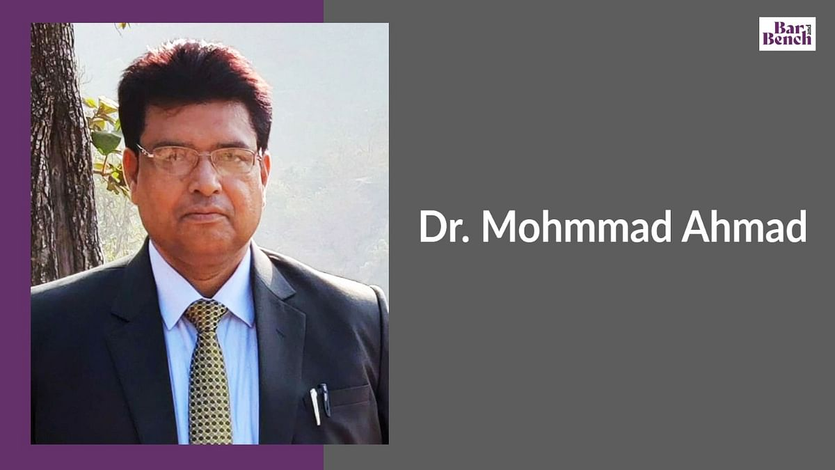 In Conversation with Dr. Mohmmad Ahmad, University of Lucknow