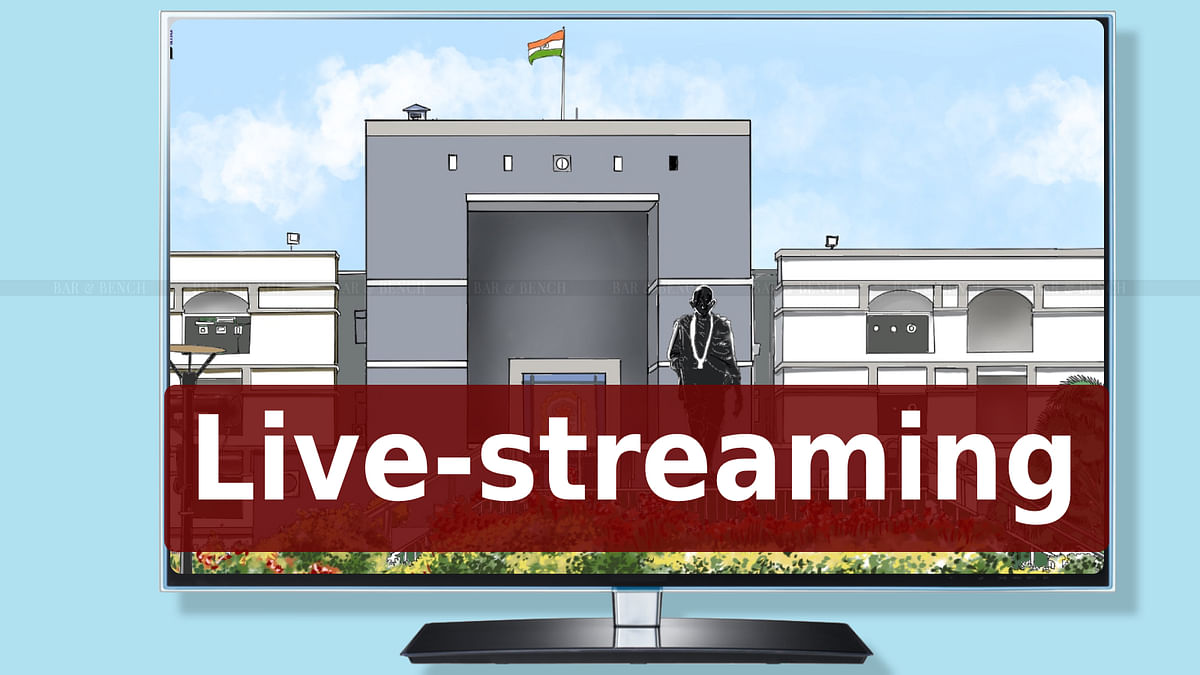 [BREAKING] Gujarat High Court to formally launch live streaming of proceedings of all willing Benches; launch on July 17 by CJI NV Ramana