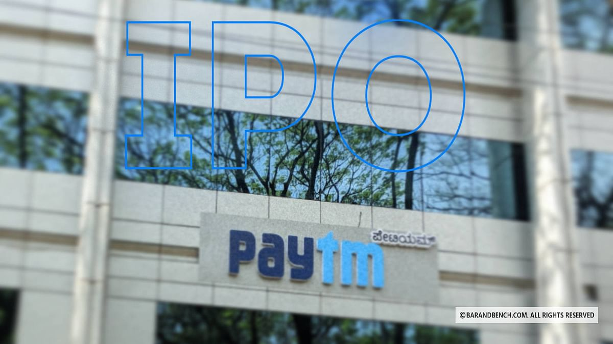 7 Indian and 3 Foreign Law Firms help Paytm raise India's largest IPO