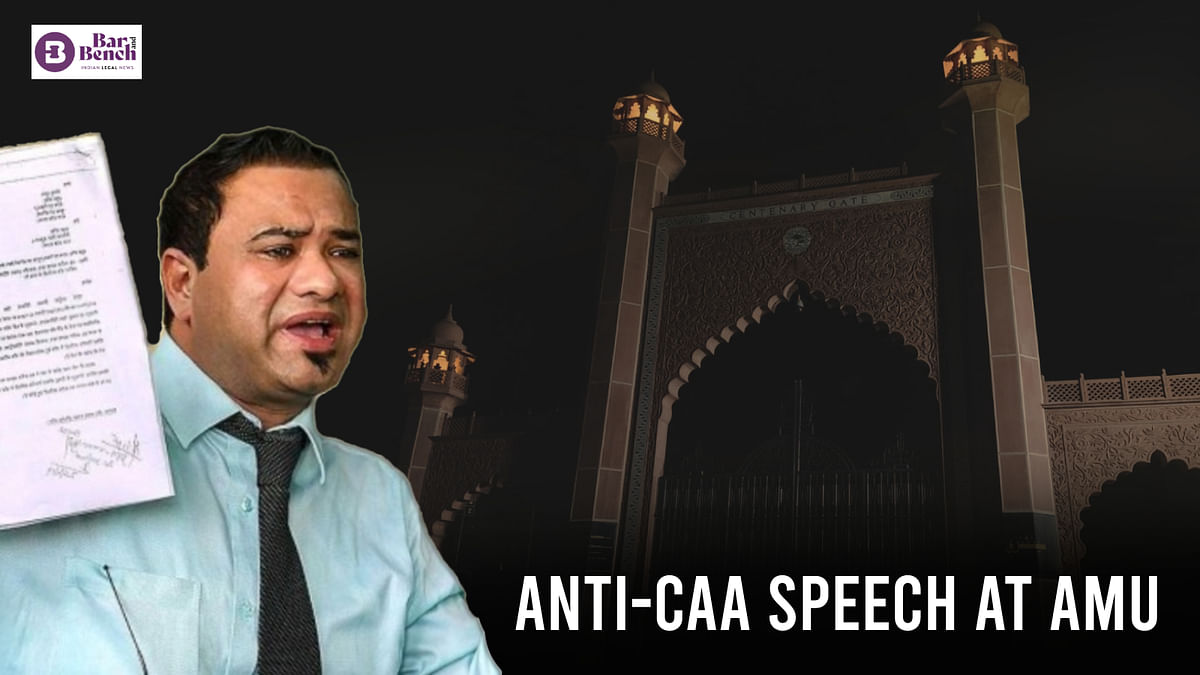 Allahabad High Court quashes criminal proceedings against Dr. Kafeel Khan in connection with Anti-CAA speech at Aligarh Muslim University