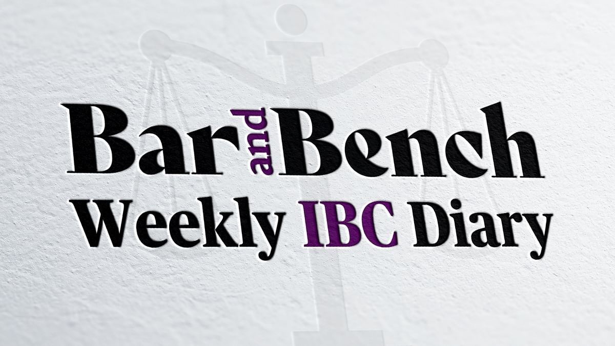 Weekly IBC Diary #4: Resolution Plan cannot be withdrawn after approval, period of limitation and more