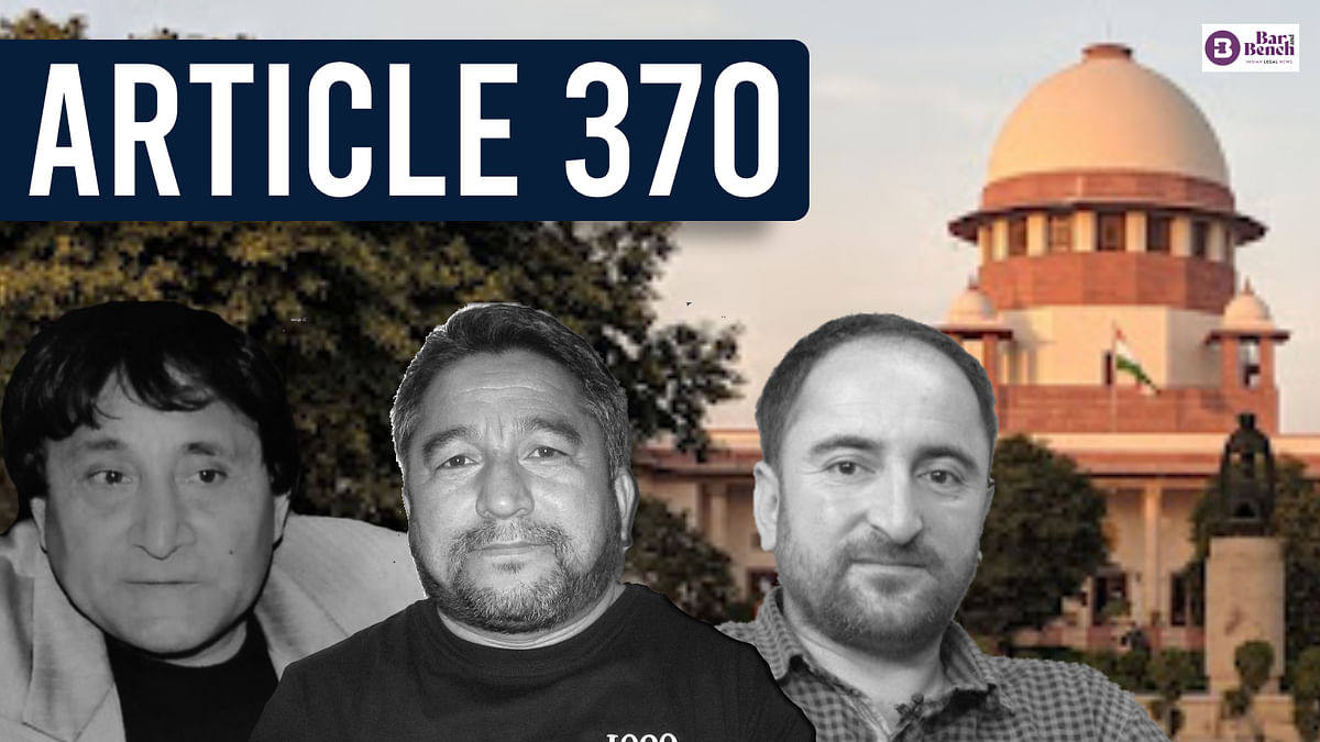 """""""Imposes dictatorial regime, democratic process annulled:"""" Ladakh leaders, journalist move Supreme Court challenging abrogation of Article 370"""
