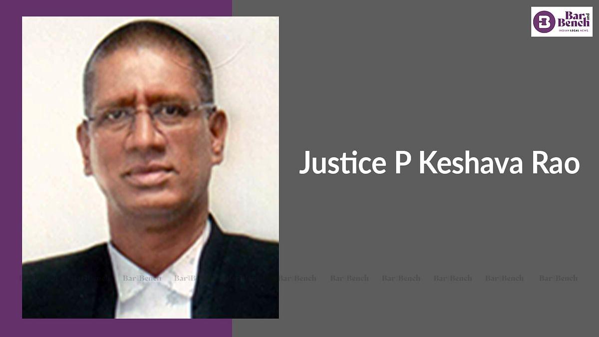 Telangana High Court Judge, Justice P Keshava Rao passes away