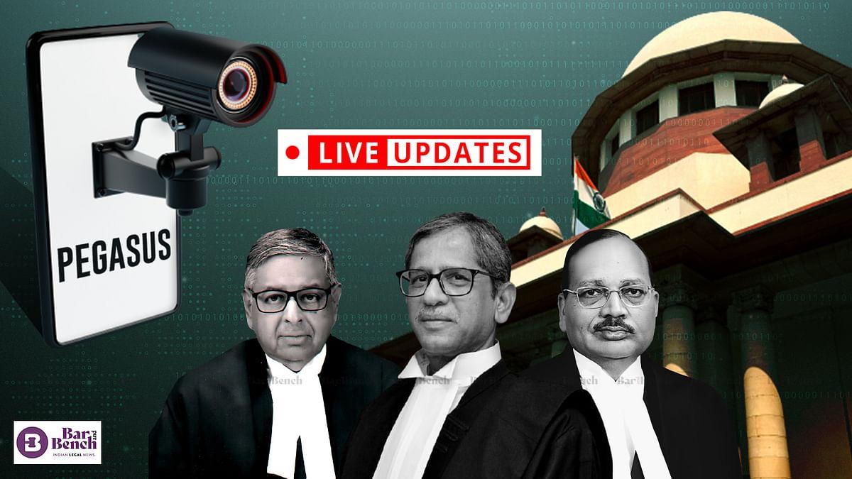 Pegasus Snoopgate case: LIVE UPDATES from Supreme Court