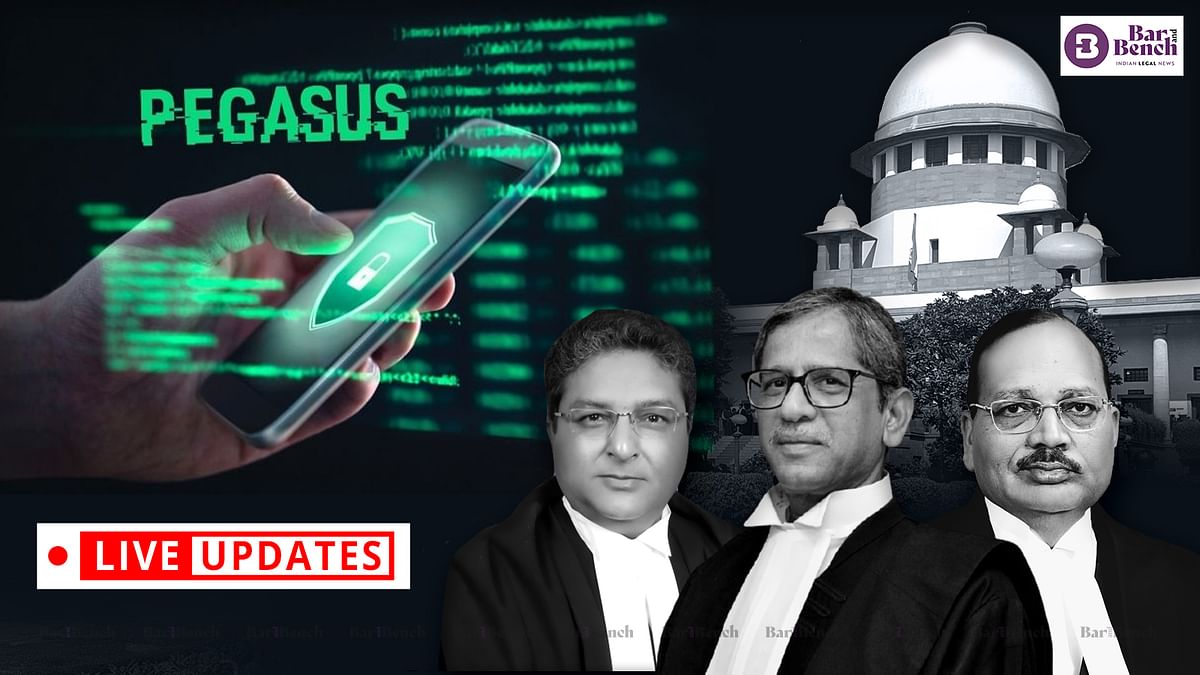 Pegasus Snoopgate: Supreme Court continues hearing petitions for independent probe, disclosure of material [LIVE UPDATES]