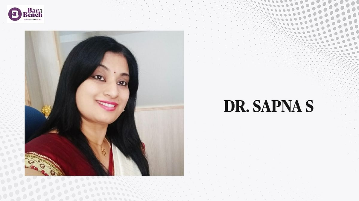 In Conversation with Dr. Sapna S, Professor of Law and HOD- School of Law, Christ University Bangalore