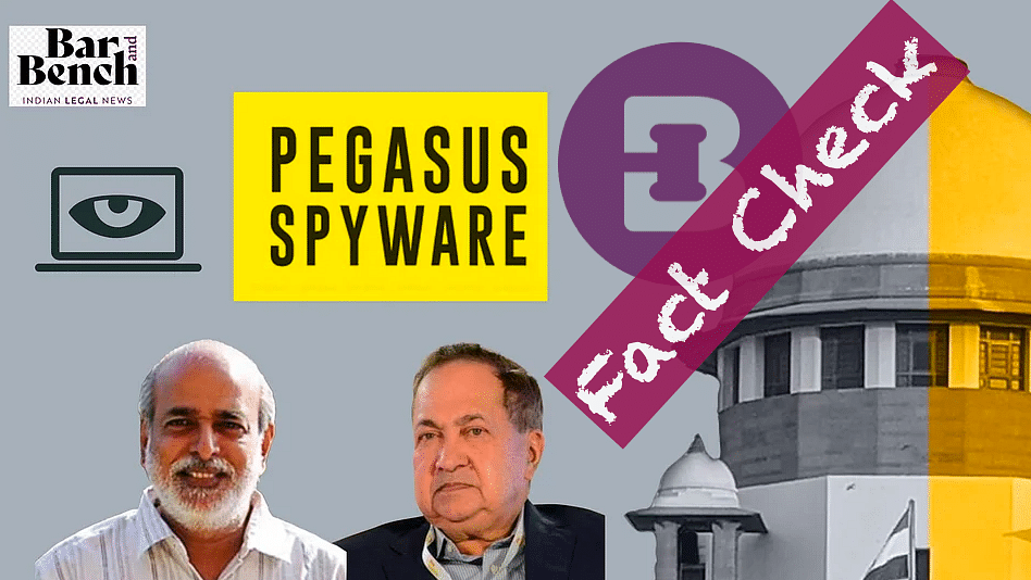 Fact checker: Did N Ram's petition before the Supreme Court say that California court order made note of Indian Pegasus targets?