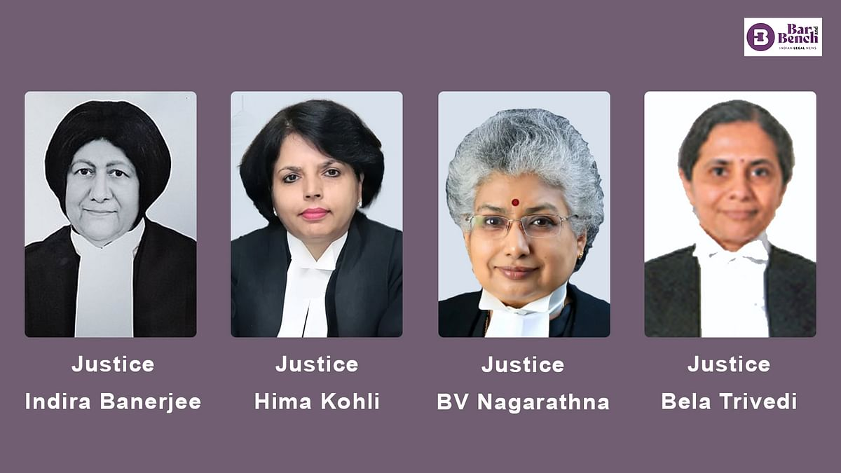 First time in independent India, Supreme Court has four sitting women judges
