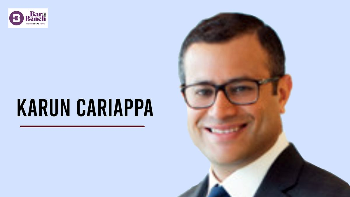 Khaitan & Co ropes in Karun Cariappa for new Singapore office