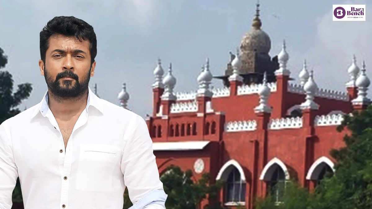 Madras High Court dismisses plea by actor Suriya for waiver of interest under Section 220(2A) of Income Tax Act