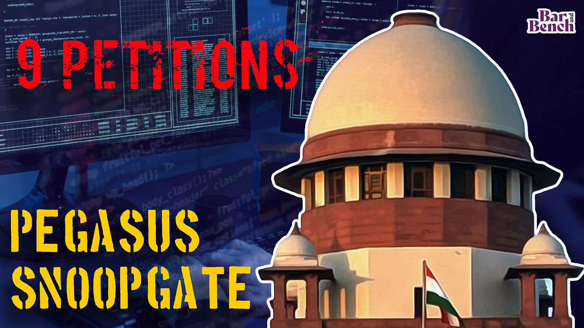 [Pegasus Snoopgate] These are the 9 petitions which Supreme Court will hear today