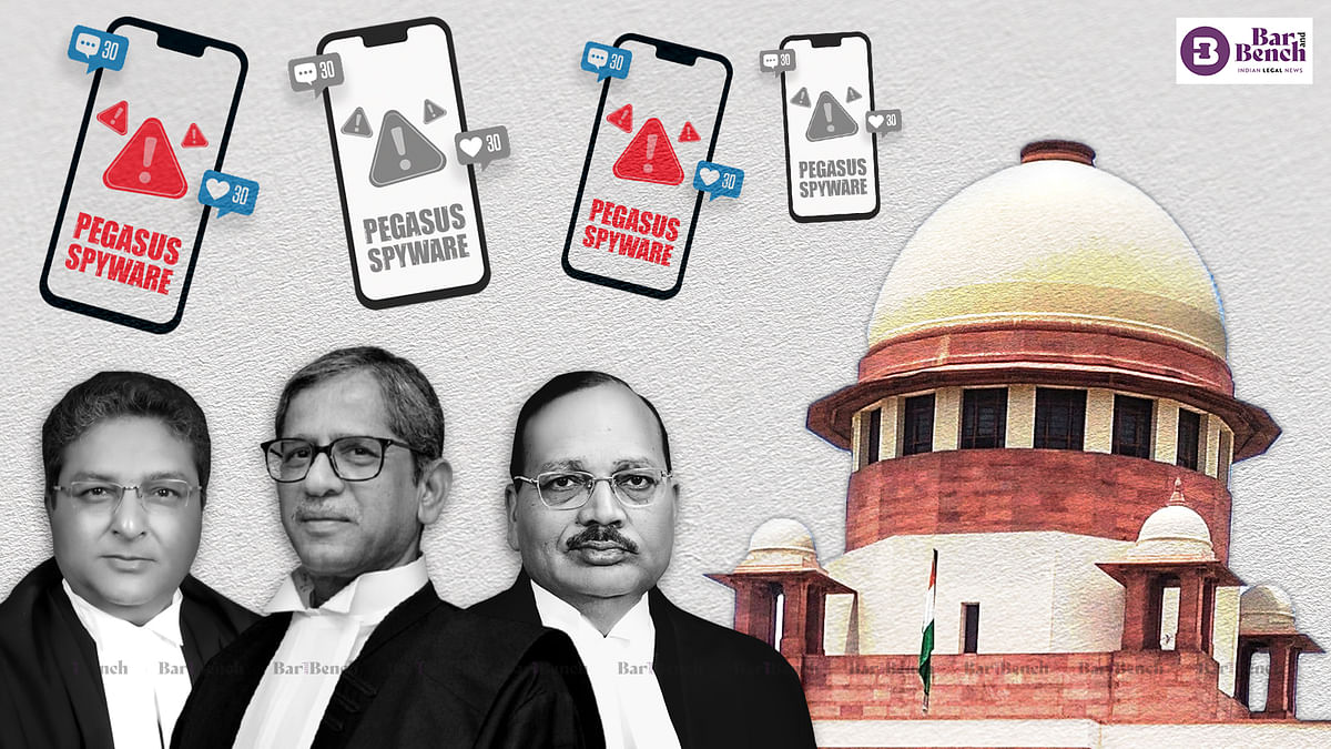 [Pegasus] Answer our queries through a proper debate in court and not outside: Supreme Court to petitioners